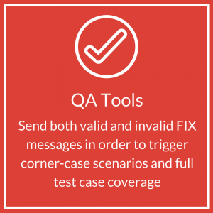 QA Tools: Send both valid and invalid FIX messages in order to trigger corner-case scenarios and full test case coverage | Jet Tek Fix | Fix Tester